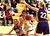 Watsonville sophomore Melena Cueva grabs a rebound between Monta Vista defenders in their Central Coast Section Division I playoffs game in Watsonville, Calif., on Tuesday, Feb. 19, 2013. Monta Vista won the first-round game 54-49. (Shmuel Thaler/Sentinel)
