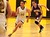 Watsonville High forward Sonya Cervantes brings the ball up court for the Wildcatz with Monta Vista's Jackie Yee in pursuit in their Central Coast Section Division I playoffs game in Watsonville, Calif., on Feb. 19, 2013. Monta Vista won the first-round game 54-49. (Shmuel Thaler/Sentinel)