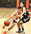 Los Gatos High's Tyler Gomes (3) looks to score in the first round of the Central Coast Section Division II playoffs vs. Pajaro Valley in Los Gatos, Calif., on Feb. 19, 2013. Los Gatos won 61-35. (Cathy Cowden/for SVCN)