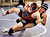 Harbor High senior Dakota Francis throws his opponent to the mat during his match at the Central Coast Section Wrestling Tournament at Independence High in San Jose, Calif., on Friday, Feb. 23, 2013. (Kevin Johnson/Sentinel)