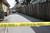 This is the crime scene on Branciforte Ave. in Santa Cruz, Calif. on Wednesday, Feb. 27, 2013 where Santa Cruz police officers, detective Sgt. Loran