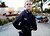 Santa Cruz Police officer Elizabeth Butler on foot patrol on Pacific Avenue in 2008. (Shmuel Thaler/Sentinel)