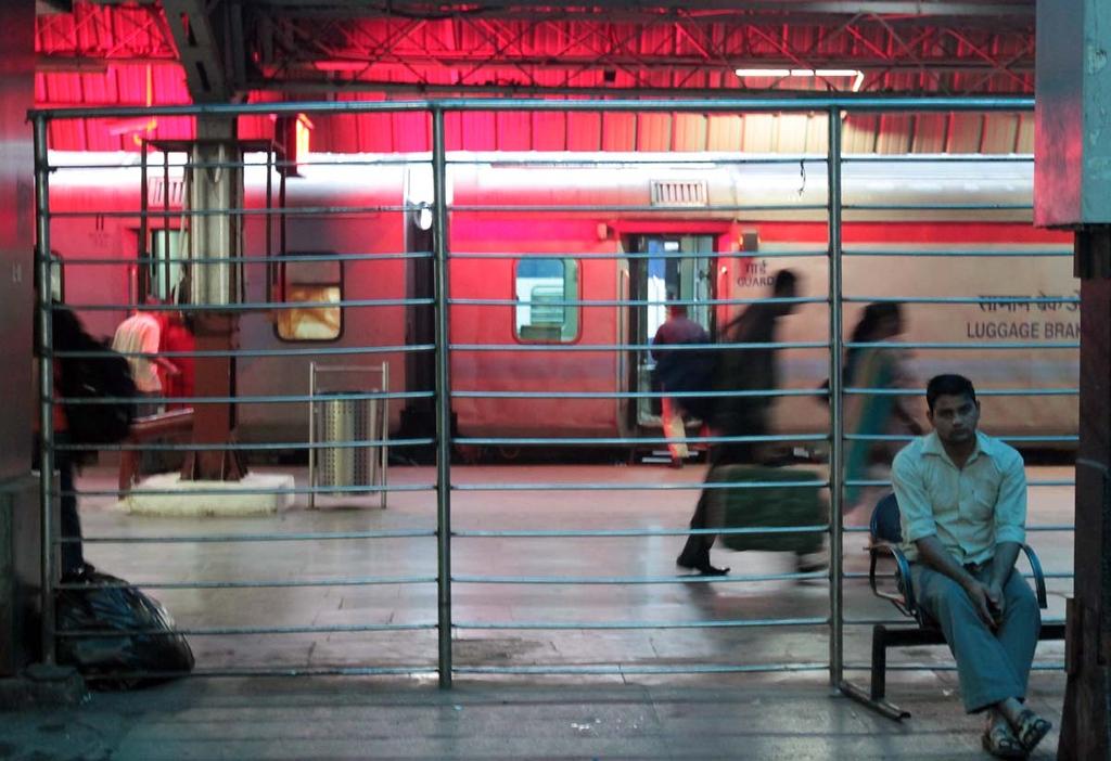 . Delhi to Haridwar by train March 27, 2013. Shmuel Thaler/Sentinel