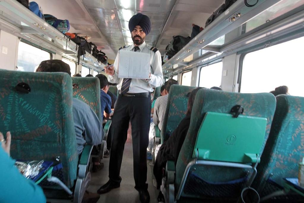 . Delhi to Haridwar by train on March 27, 2013. Shmuel Thaler/Sentinel