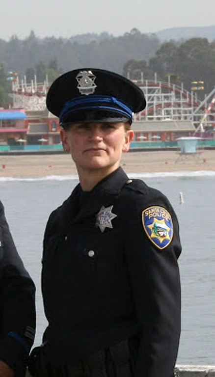 """. This undated photo provided by the Santa Cruz Police Department shows Santa Cruz police officer Elizabeth Butler. Butler and Sgt. Loran \""""Butch\"""" Baker were killed while responding to a sexual assault report Tuesday afternoon, Feb. 26, 2013, at the doorstep of a suspect who was chased down and killed half an hour later. (AP Photo/Santa Cruz Police Department)"""