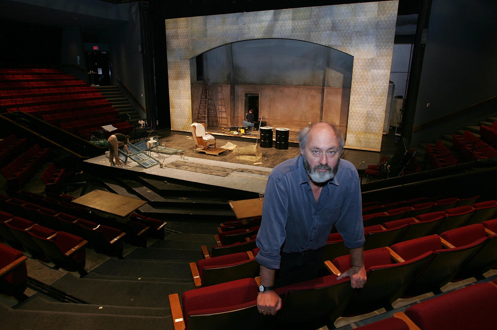 """. This is the indoor theater where Paul Whitworth will be one of four actors in the play \""""End Game\"""" this season. Whitworth was the artistic director of Shakespeare Santa Cruz for 20 years. (Karen T. Borchers/ Mercury News file)"""