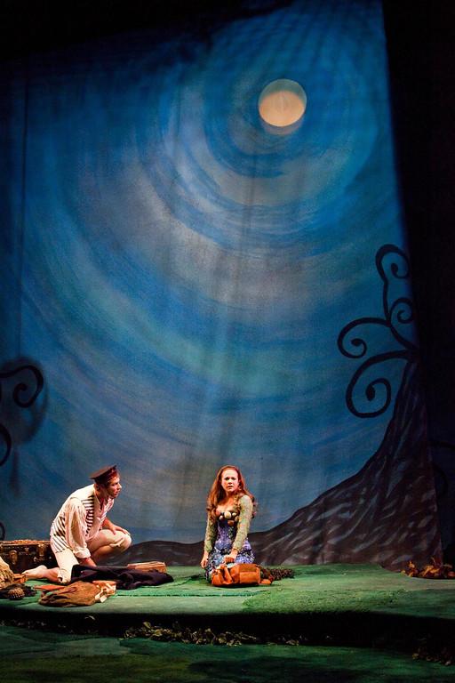 ". A scene from the 2012 Shakespeare Santa Cruz production of the Bard\'s \""Twelfth Night.\"" (Courtesy Shakespeare Santa Cruz.)"