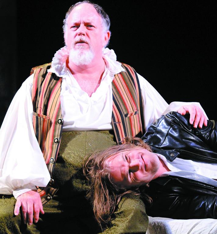 ". A shot from Shakespeare Santa Cruz\'s \""Henry IV, Part I\"" (Shmuel Thaler/Sentinel file)"